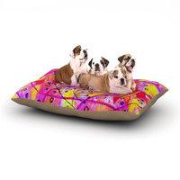 East Urban Home Ebi Emporium 'Into the Fall 2' Dog Pillow with Fleece Cozy Top Size: Small (40
