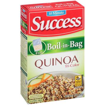 Success® Boil-in-Bag Tri-Color Quinoa 12 oz. Box