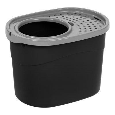 Iris Standard Litter Box Color: Black