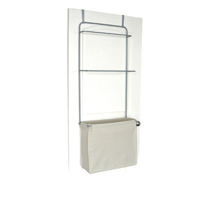Home Products Homz Over-the-Door Metal and Cotton Garment Organizer