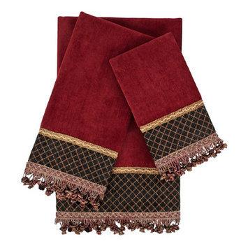 Sherry Kline Arcadia 3 Piece Embellished Towel Set