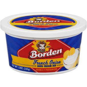 Borden® French Onion Sour Cream Dip 12 oz. Tub