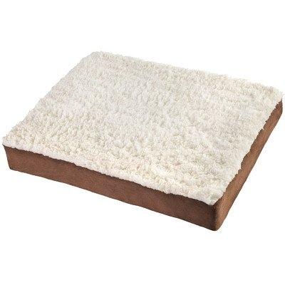 OxGord Large Ultra Plush Delux Ortho Pet Bed