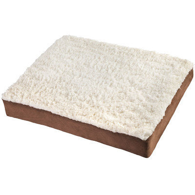 OxGord Large Ultra Plush Delux Ortho Pet Bed