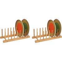 Rebrilliant Multi-Purpose Bamboo Kitchenware Divider