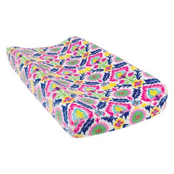 Test Waverly Baby by Trend Lab Santa Maria Plush Changing Pad Cover