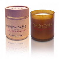 Daniellas Candles Aromatherapy Bedtime Bath Jewelry Candle - Ring Size 5