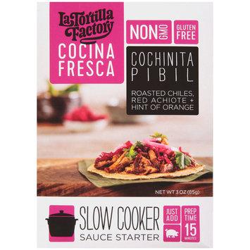La Tortilla Factory Cocina Fresca Cochinita Pibil Slow Cooker Sauce Starter 3 oz. Packet