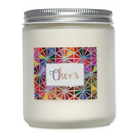 Ecocandleco Cheer Holiday Soy Jar Candle