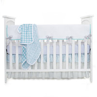 Glenna Jean Willow 3 Piece Crib Bedding Set