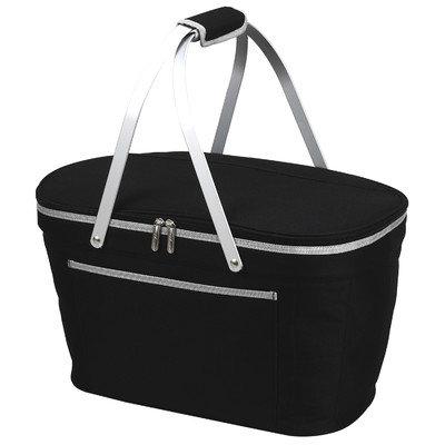 Beachcrest Home Collapsible Basket Cooler Color: Black