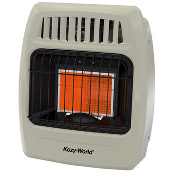 World Marketing Kozy World 6,000 BTU Infrared Natural Gas Wall Heater