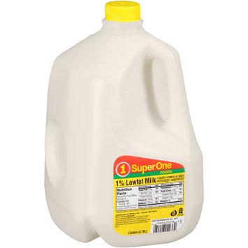 SuperOne Foods 1% Lowfat Milk 1 gal. Jug