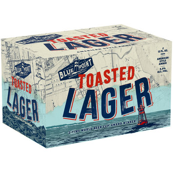 Blue Point Brewing Company® Toasted Lager® Beer 6-12 fl. oz. Cans