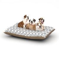 East Urban Home DLKG Design 'Deer Deer' Dog Pillow with Fleece Cozy Top Size: Large (50