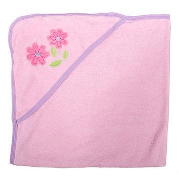 Tadpoles Flower Newborn Baby Hooded Bath Towel