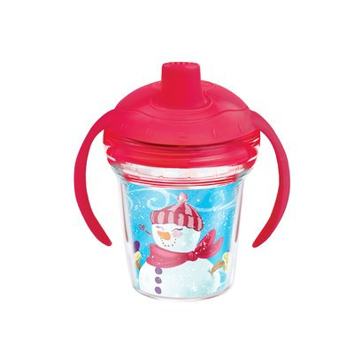 Tervis® My First Tervis™ Christmas Snowman 6 oz. Sippy Design Cup with Lid