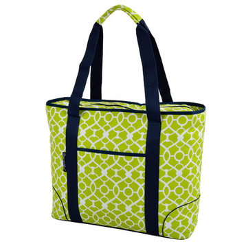 Freeport Park Extra Large Insulated Tote Color: Green