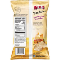 Ruffles® Oven Baked Roasted Garlic & Ranch Flavored Potato Chips