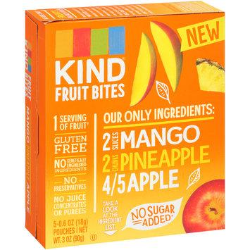 Kind® Mango Pineapple Apple Fruit Bites 5-0.6 oz Pouches