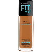 Maybelline® New York Fit Me!® Matte + Poreless Foundation 334 Warm Sun 1 fl. oz. Pump Bottle