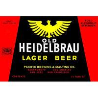 Buyenlarge 'Old Heidelbrau Lager Beer' Wall Art Size: 66