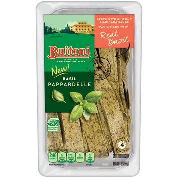 BUITONI Refrigerated Basil Pappardelle Pasta no GMO 9 oz.