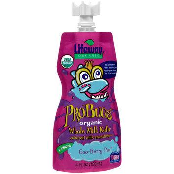 Lifeway® ProBugs™ Goo-Berry Pie™ Organic Whole Milk Kefir Cultured Milk Smoothie 4 fl. oz. Pouch