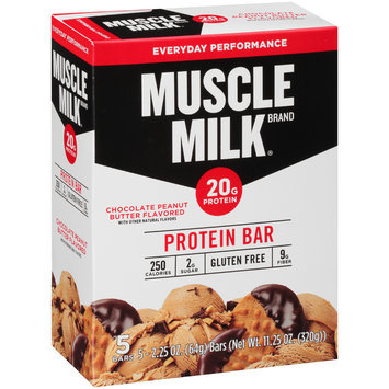 Muscle Milk® Chocolate Peanut Butter Flavored Protein Bar
