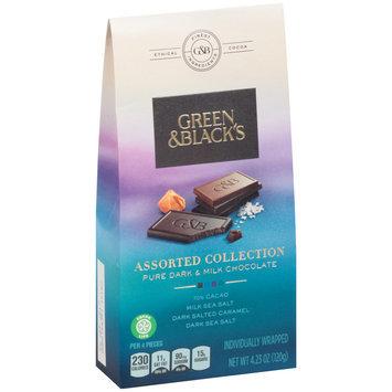 Green & Black's Assorted Collection Pure Dark & Milk Chocolate 4.23 oz. Box