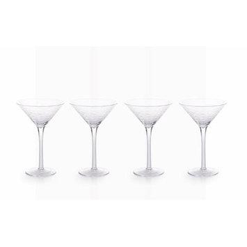 Rosecliff Heights Williamson Tall Fish Cut 8 oz. Glass Martini Glass