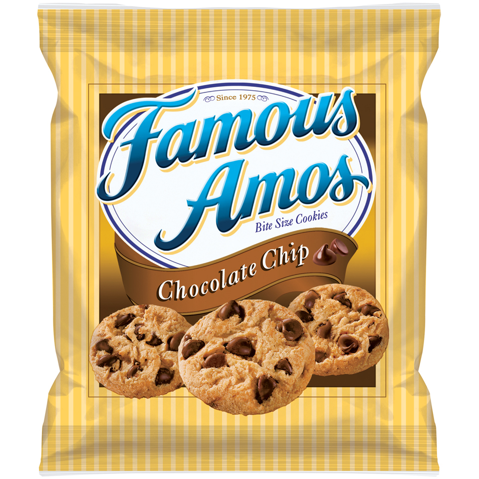 Famous Amos® Chocolate Chip Bite Size Cookies 1.5 oz. Bag