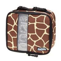 Maranda Enterprises FlexiFreeze Freezable Lunch Box Cooler Color: Giraffe
