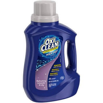 Oxiclean™ Refreshing Lavender & Lily High Def Clean Laundry Detergent 40 oz. Plastic Jug