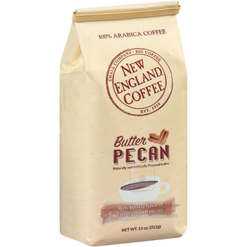 new england coffee® butter pecan ground coffee