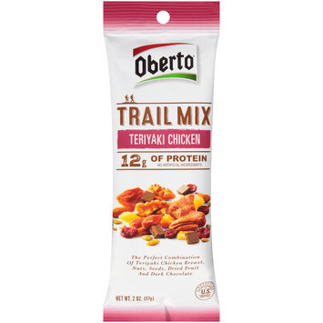 Oberto® Teriyaki Chicken Trail Mix 2 oz. Pack