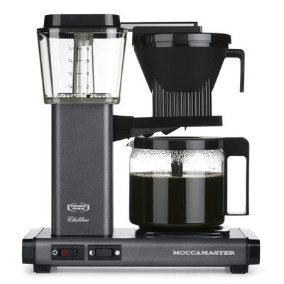 Moccamaster KBG Coffee Maker Color: Stone Grey