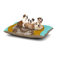 East Urban Home Art Love Passion 'Squirrel' Dog Pillow with Fleece Cozy Top Size: Small (40