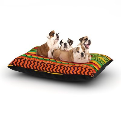 East Urban Home Louise Machado 'Egyptian' Dog Pillow with Fleece Cozy Top Size: Small (40