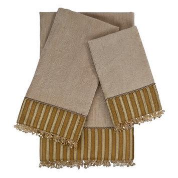 Sherry Kline Mulligan 3 Piece Embellished Towel Set