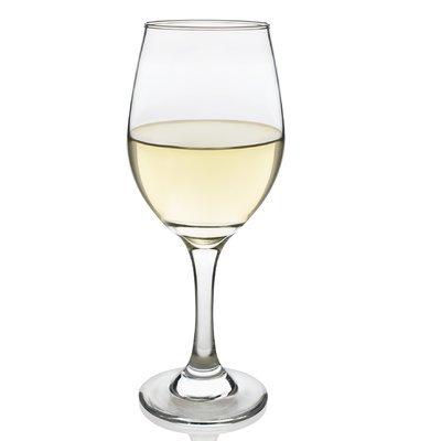 Libbey 3057S4 4 Piece Basics White Wine Glass, 11 oz, Clear