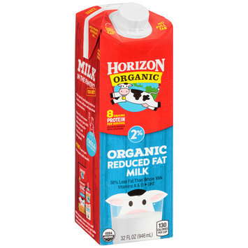 Horizon Organic® Reduced Fat 2% Milk