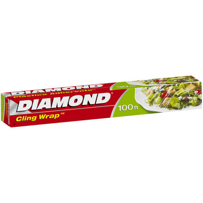Diamond® Cling Wrap 100 ft. Box