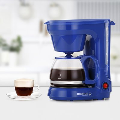 Holstein Housewares 6 Cup Coffee Maker Color: Blue