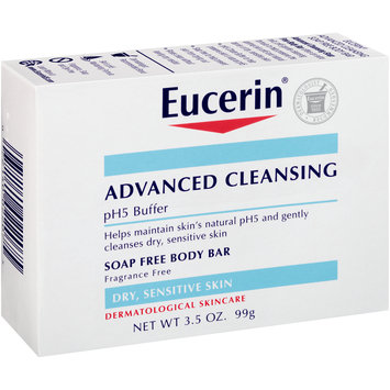 Eucerin® Advanced Cleansing Soap Free Body Bar 3.5 oz. Box