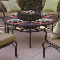 Darlee Series 80 Cast Aluminum Round Patio Coffee Table DL80-Q-B