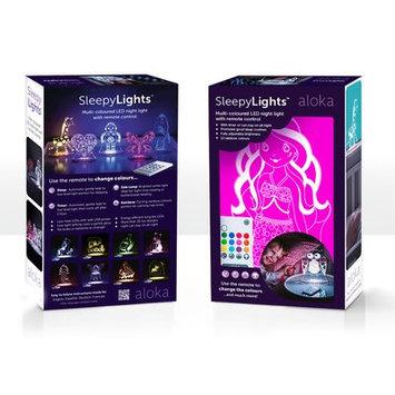 Lumenico Aloka Starlights LED Mermaid Night Light with Remote Control