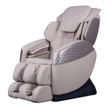Symple Stuff Massage Chair Upholstery: Cream