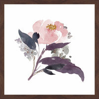 Marmont Hill Inc Marmont Hill - 'Watercolor Bouquet 1' by Shayna Pitch Framed Painting Print