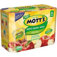 Mott's® Original 100% Apple Juice 8-6.75 fl. oz. Pouches